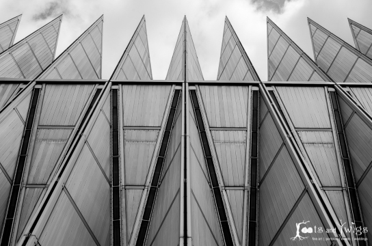 United States Air Force Academy Cadet Chapel, Colorado Springs, CO #2